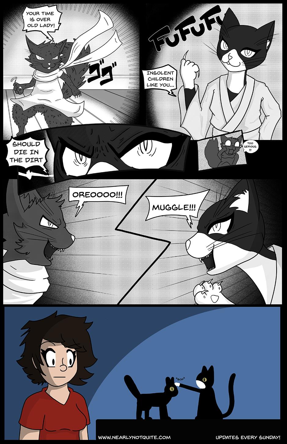 Muggle's Bizarre Adventure